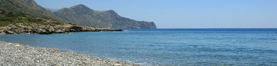 Anidri beach in Paleochora - Crete